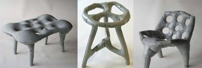 Concrete Chair