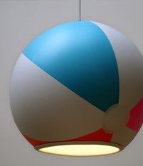 Beach Ball Lampshade